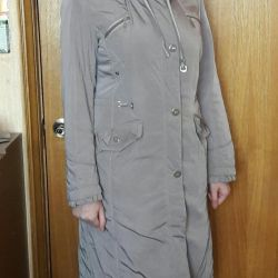 Продам пальто весна-осень, 48р