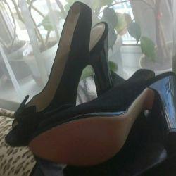 Sandals Suede 36-37