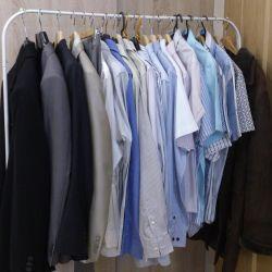Business wardrobe p.48-50-52 Italy, Boss, Zara Man