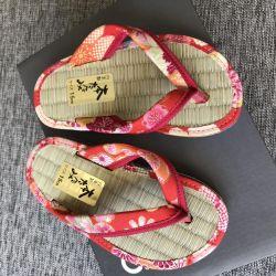Детские тапочки из Японии