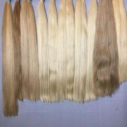 Blond hairs, natural