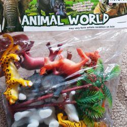 Set of animals 12 pcs.