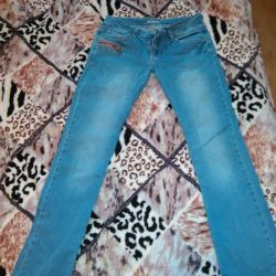 Jeans size 28, growth approximately 163