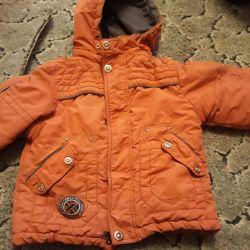 Autumn jacket on fleece