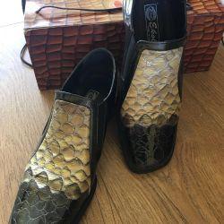 Deri deri ayakkabı 37 İtalya