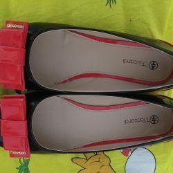Shoes new varnish