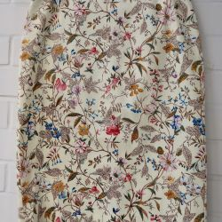 New straight floral skirt