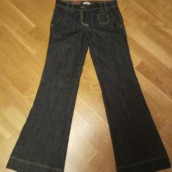 İtalyan kot pantolon 27 s. Yeni Ama Değil Düğmeler