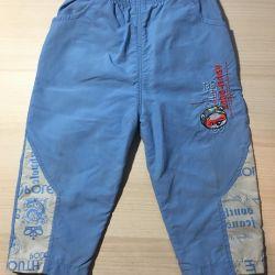Rutubetli havalar için pantolonlar