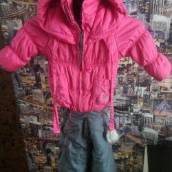 Half-jacket + jacket