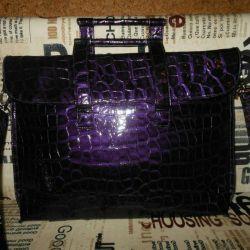 Çanta çantası, ultraviyole. yeni