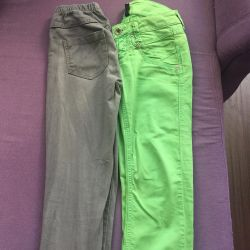 Брючки и джинсы для девочки