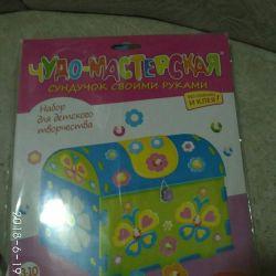 Çocukların yaratıcılık kutusu