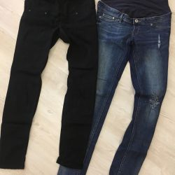 HM jeans. 38 / M for pregnant women
