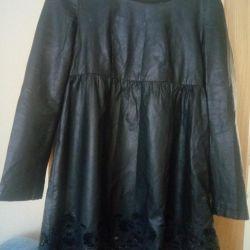 eco leather dress