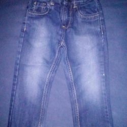 Jeans at 92 and 98 cm
