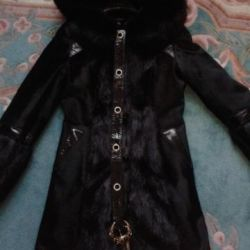 новое зимние  пальто 42/44 размер