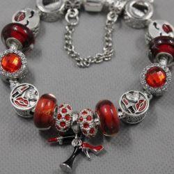 1976 Pandora Style Bracelet