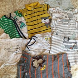 Sandboxes and bodysuit Carters, Next, George, Mothercare
