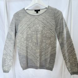 Jumper with a patterned print J.Crew. Original