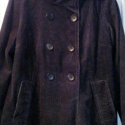 Ceket kadife boho.