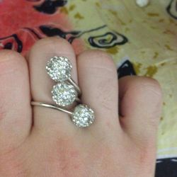 Ring with earrings