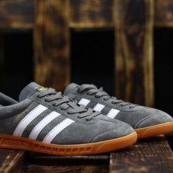 Adidas Hamburg gray!