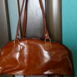 Leather bag from Tunisia