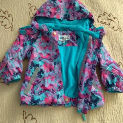 Insulated windbreaker for a girl
