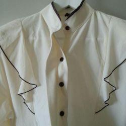 Bluza bej 52-54 dimensiune