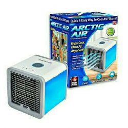 Mini air conditioner humidifier