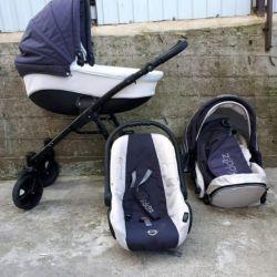 3in1 stroller Zippy