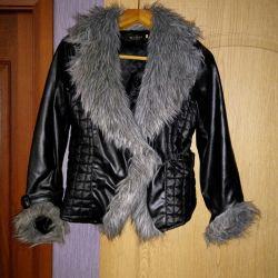 Jachetă pentru femei cu blană