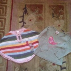 Вещи для девочки размер 86
