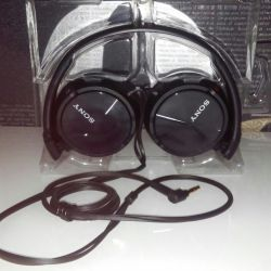 SONY MDR-ZX310 headphones, overhead, wired