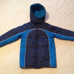 Зимний комплект на мальчика рост 104-110 (4-6 лет)