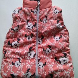Warm vest for 1-2 years