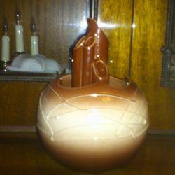 Vase earthenware, decorative.