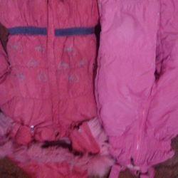 jacket + kombez winter for 3-5l