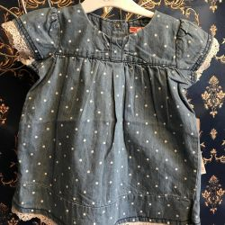 New denim dress tunic sarafan