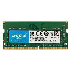 SODIMM Crucial 4Gb 2400 DDR4 RAM