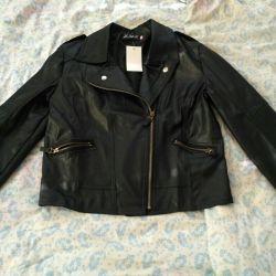 Eco Leather Coat Jacket