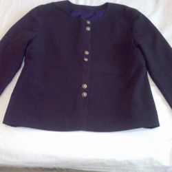 The school uniform is navy blue.