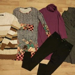 Urgently! Three dresses 42-44Package !!!