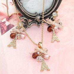 Paris pendant + earrings