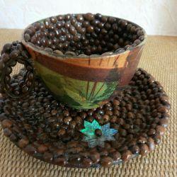 Cana + farfurie (cafea)