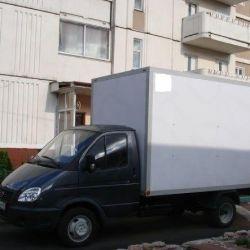 Cargo transportation Gazelle Van