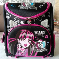 Satchel sırt çantası okulu Monster High