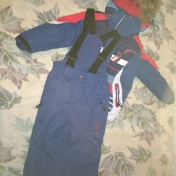 Winter suit for boy height 98
