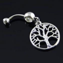 Пирсинг пупка (дерево жизни)